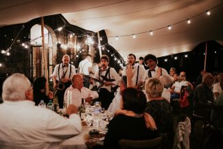 The Brotherockers - 4 piece strolling band from Nice, bringing the sparkle, theatre and both traditional and modern music hits to your special day!