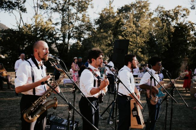 Bands DJs in France. The Brotherockers - A French Strolling Band who will bring sophistication, charm and the authentic musical French touch to your wedding party or special event