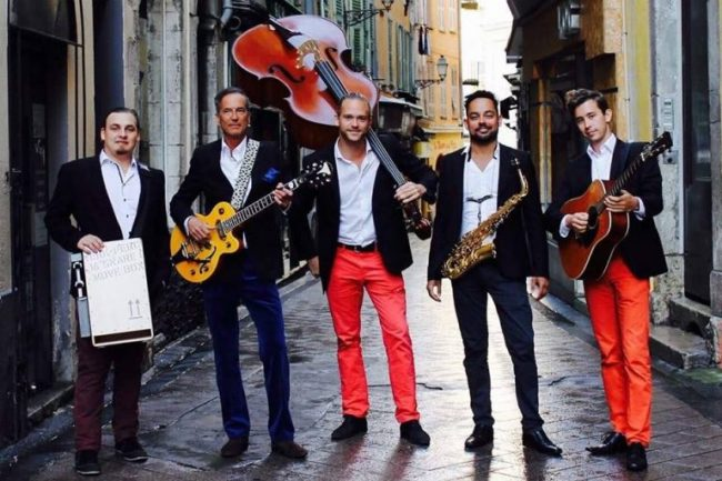 Odd Socks band in Nice (Vieux Nice)