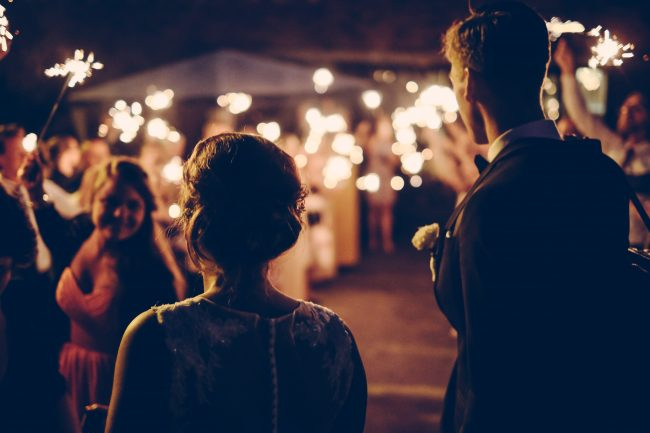 Château Wedding Party