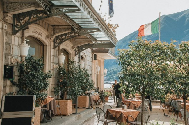 Bellagio é stupendo! The beautiful town of Bellagio is perched on the shores of Lake Como