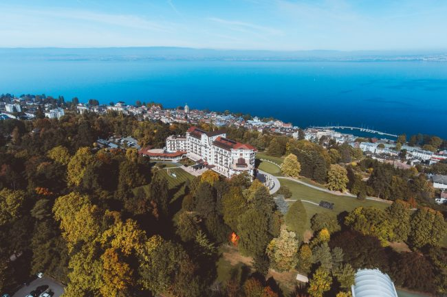 Hotel Royal - Evian, France. A stunning setting for any wedding party or corporate event