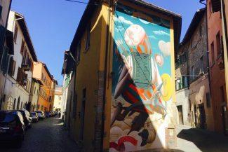 Street Art, Sansepolcro Tuscany