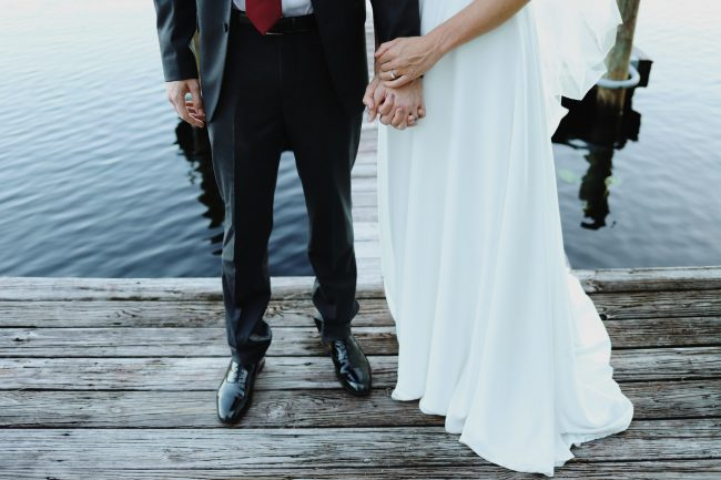Your wedding ceremony by the lake